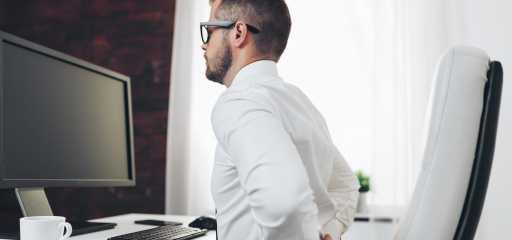 Comment soulager le mal de dos au travail ?